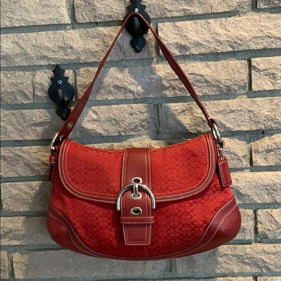 Coach Handbags - Coach Signature Hobo Bag